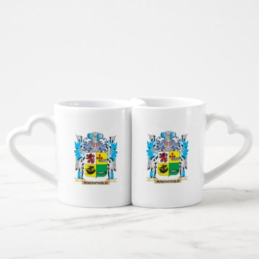 Macdonald- Coat of Arms - Family Crest Lovers Mugs