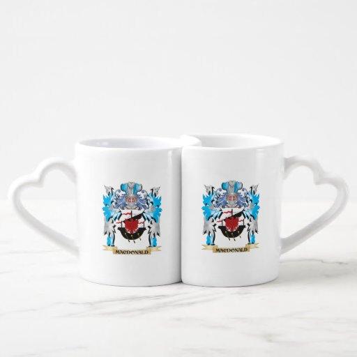 Macdonald Coat of Arms - Family Crest Couples Mug