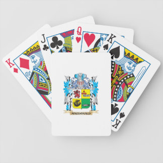 Macdonald- Coat of Arms - Family Crest Deck Of Cards