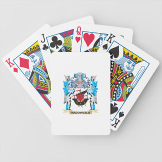 Macdonald Coat of Arms - Family Crest Poker Cards