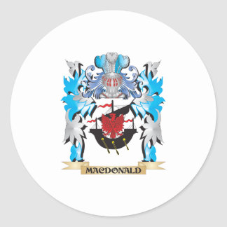 Macdonald Coat of Arms - Family Crest Stickers