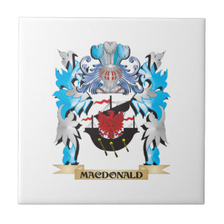 Macdonald Coat of Arms - Family Crest Tiles