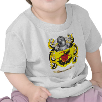 MacDonald Coat of Arms (Family Crest) T-shirts