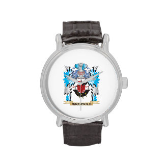 Macdonald Coat of Arms - Family Crest Wrist Watch