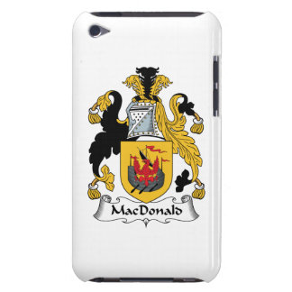 MacDonald Family Crest iPod Touch Case-Mate Case