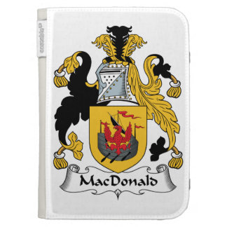 MacDonald Family Crest Cases For The Kindle