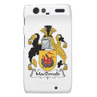 MacDonald Family Crest Droid RAZR Cover