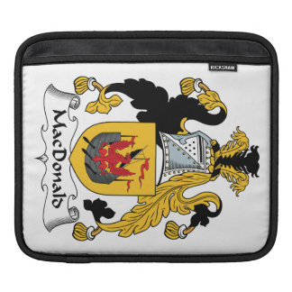 MacDonald Family Crest Sleeve For iPads