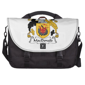 MacDonald Family Crest Laptop Computer Bag