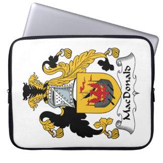 MacDonald Family Crest Laptop Sleeves