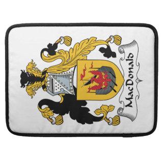 MacDonald Family Crest Sleeve For MacBooks