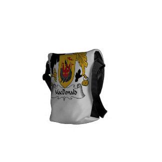 MacDonald Family Crest Messenger Bags