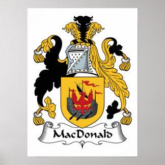 MacDonald Family Crest Print