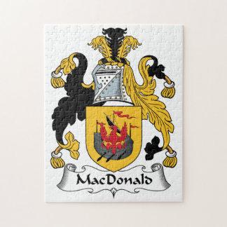 MacDonald Family Crest Puzzle