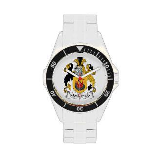 MacDonald Family Crest Wrist Watch