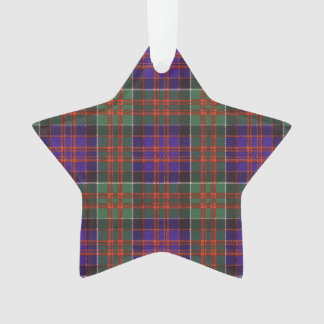 Macdonald of Clanranalld Plaid Scottish tartan Ornament