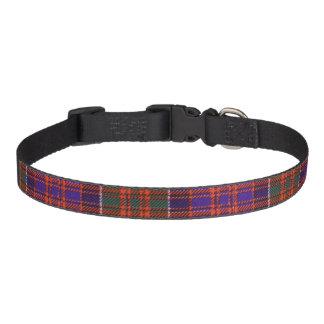 Macdonald of Clanranalld Plaid Scottish tartan Pet Collars
