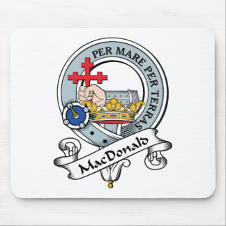 MacDonald of Donald Clan Badge Mouse Pad