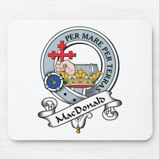 MacDonald of Donald Clan Badge Mouse Pad