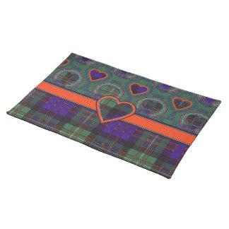 Macdonald of Glengarry Scottish tartan Placemat