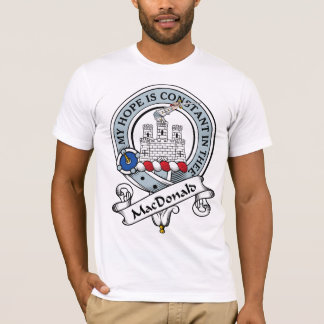MacDonald of Ranald Clan Badge T-Shirt
