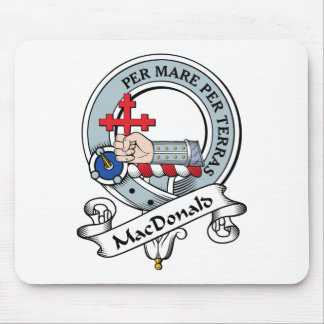 MacDonald of Sleat Clan Badge Mouse Pad