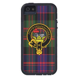 Macdonald Scottish Crest and Tartan iPhone 5/5S iPhone 5 Cases