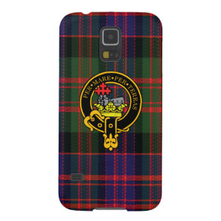 Macdonald Scottish Crest and Tartan Samsung Case