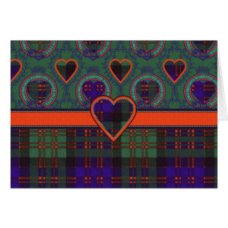 MacDonald Scottish Tartan Card