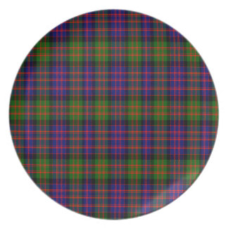 Macdonald Scottish Tartan Plate