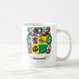 MacDonald-(Slate) Coat of Arms (Family Crest) Basic White Mug