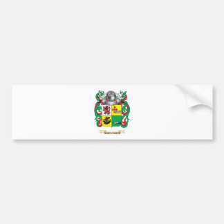 MacDonald-(Slate) Coat of Arms (Family Crest) Car Bumper Sticker