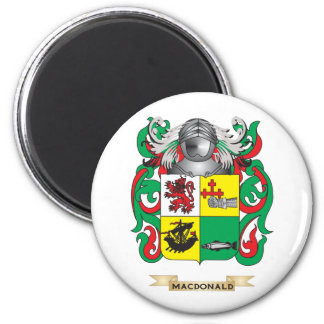 MacDonald-(Slate) Coat of Arms (Family Crest) Magnets