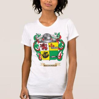 MacDonald-(Slate) Coat of Arms (Family Crest) T-shirt