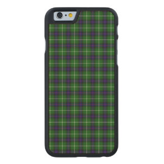 MacDonald Tartan Carved Maple iPhone 6 Case