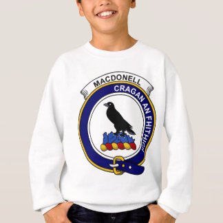 MacDonell (of Glengarry) Clan Badge Sweatshirt
