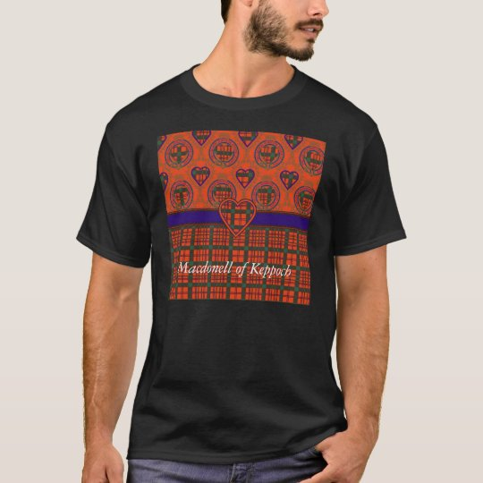 Macdonell of Keppoch clan Plaid Scottish tartan T-Shirt