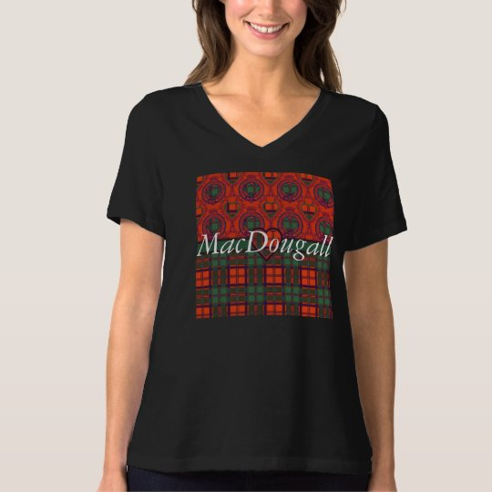 MacDougall clan Plaid Scottish kilt tartan T-Shirt