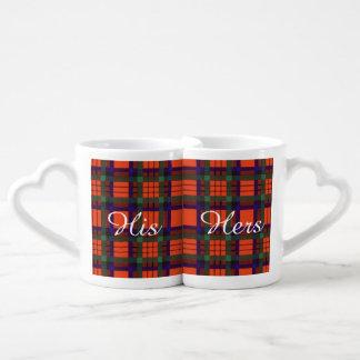 Macduff clan Plaid Scottish tartan Coffee Mug Set