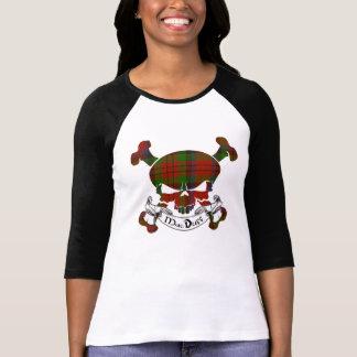 MacDuff Tartan Skull Tee Shirts