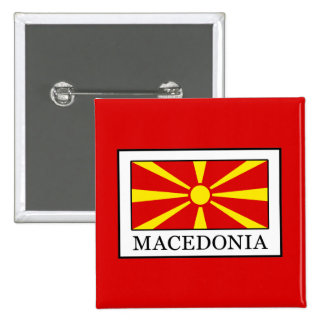 Macedonia 15 Cm Square Badge