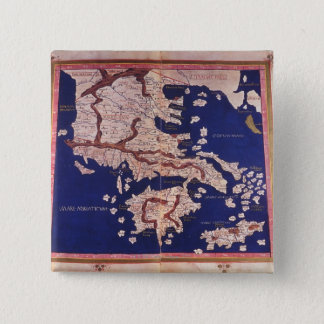 Macedonia and Greece 15 Cm Square Badge