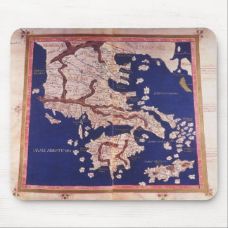 Macedonia and Greece Mouse Mat