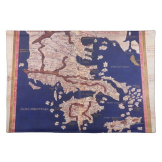 Macedonia and Greece Placemat