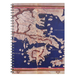 Macedonia and Greece Spiral Notebook