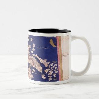 Macedonia and Greece Two-Tone Coffee Mug