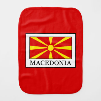 Macedonia Burp Cloth
