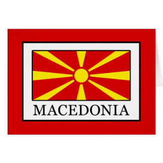 Macedonia Card