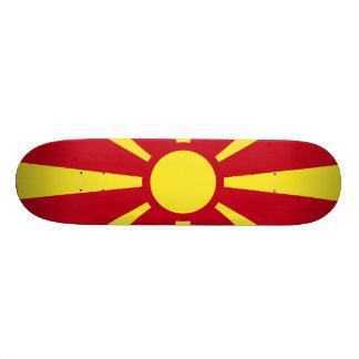 Macedonia Flag 18.1 Cm Old School Skateboard Deck
