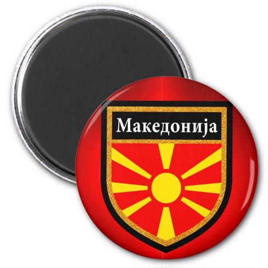 Macedonia Flag Magnet